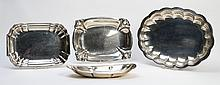 4 PIECE LOT OF STERLING SILVER BOWLS 90 TROY OZ