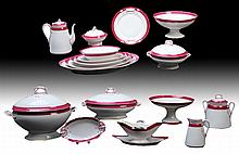 28 PC SET H & CO. LIMOGES PORCELAIN 1880