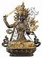 Imposante Figur des Manjushri