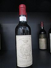 Four half bottles of wine Chateau Gruaud Larose