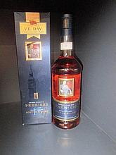 A Premiers bottle of Scotch whisky, V.E. Day