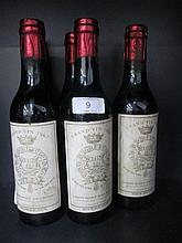 Six half bottles of wine, Chateau Gruaud Larose