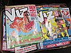 A selection of Viz magazines