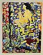 Sally Ko, Nude, Abstract Realism Acrylic Painting