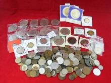 Large Group of Various Foreign Coins