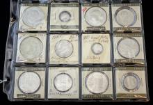 Group of 12 Foreign Coins, .72 to .925 Silver