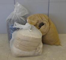 Rolls Upholstery Wadding & Packing Materials (3 Bags)