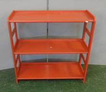 Set Painted Open Shelves with small upstand