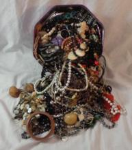 Costume Jewellery inc. ropes of beads, bangles, necklaces etc.
