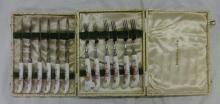 2 Boxes Royal Crown Derby Dessert Knives & Forks