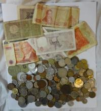 Foreign Coins & Bank Notes