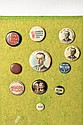 Wilson Presidential Campaign Buttons