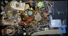 Assorted Lot Of Costume Jewelry