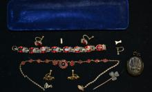 Early 20thC Costume Jewelry & Another