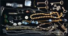 Assorted Lot Of Costume Jewelry & Others