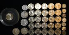 Silver & Clad US Coin Lot