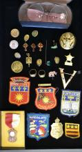 Grouping Of Military Insignia & Commemorative Item