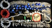 Collection Of Vintage Costume Jewelry Lot