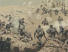 Faulhammer, Richard.  Skizzen aus Serbien, Albanien und Südtirol - 1915-1916. Mappe mit 58 monti