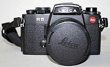 Leica R5  mit Elmarit-R 1:2.8/35 und Macro-Elmarit-R 1:2,8/60 sowie Lei