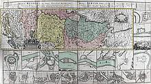 Südosteuropa.  Regnum Bosniae, una cum finitimis  Croatiae, Dalmatiae,