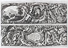 Le Pautre, Jean  (1618 Paris 1682). Ornamente. 18 (davon 12 dplblgr.) n