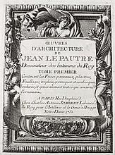 Le Pautre, Jean  (1618 Paris 1682). Ornamente, Vasen, Statuen, etc. 26