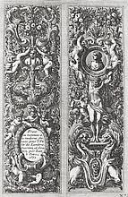 Le Pautre, Jean  (1618 Paris 1682). Ornamente. 24 num. Kupferstiche aus