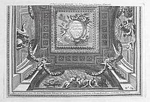 Le Pautre, Jean  (1618 Paris 1682). Dekorative Deckengestaltungen. 18 n