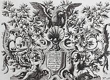 Le Pautre, Jean  (1618 Paris 1682). Dekorative ornamentale Darstellunge