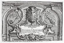 Le Pautre, Jean  (1618 Paris 1682). Dekorative Nieschengestaltungen. 16