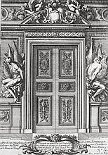 Le Pautre, Jean  (1618 Paris 1682). Dekorative Innenraumgestaltungen. 2