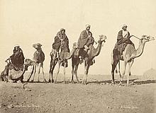 Ägpten u. Mittlere Osten.  Sammlung von Photographien ca. 1870-1890.