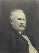 Boissonnas, Frédéric  (1858 Genf 1946). Portrait eines Mannes. Photogra