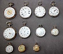 11 Taschenuhren Vacheron u.w.