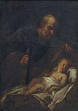 Heiliger Josef mit Kind.