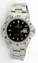 Rolex Explorer II Black Dial Wristwatch *Visible wear*