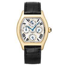 Cartier Tortue 18K Yellow Gold Watch