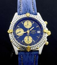 Breitling Chronograph Two Tone Watch
