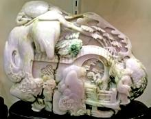 Fine Sculptured Jadeite Carving