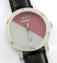Diamond King Red Gray Watch