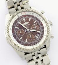 Breitling Bentley Stainless Steel Watch