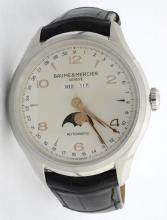 Men's Baume and Mercier Stainless Steel Clifton Watch