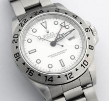 Rolex Explorer II Stainless Steel Wristwatch