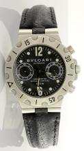 Bvlgari Chronograph Wristwatch