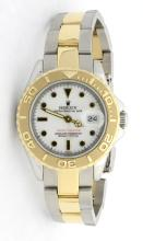 Rolex Yacht Master Stainless Steel and 18K Gold Two Tone