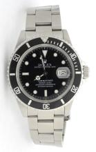 Rolex Submariner Stainless Steel Mens Watch