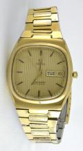 Omega 1973 Seamaster Gold Plated Watch