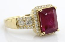 Ruby & Diamond Ring Appraised Value: $2,440