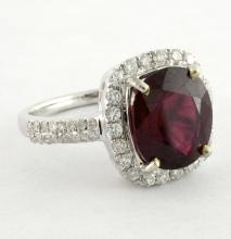 Ruby & Diamond Ring Appraised Value: $3,560